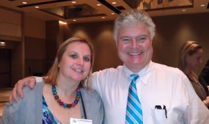 Lunch with Dr. Ned Hallowell, author of Driven to Distraction